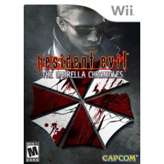 Foto Jogo Resident Evil Umbrella Chronicles Wii Capcom