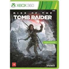 Foto Jogo Rise of the Tomb Raider Xbox 360 Crystal Dynamics