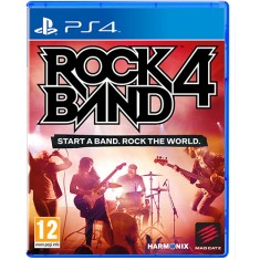 Foto Jogo Rock Band 4 PS4 Harmonix