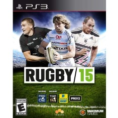 Foto Jogo Rugby 15 PlayStation 3 Maximum Games