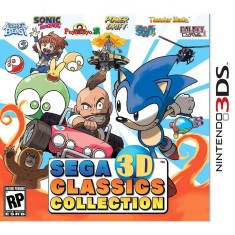 Foto Jogo SEGA 3D Classics Collection Sega Nintendo 3DS