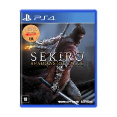 Jogo Sekiro: Shadows Die Twice PS4 From Software
