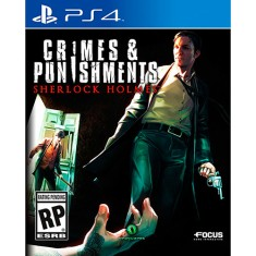 Foto Jogo Sherlock Holmes Crimes and Punishment PS4 Focus