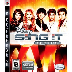 Foto Jogo Sing It: Pop Hits PlayStation 3 Disney