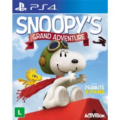 Foto Jogo Snoopy's Grand Adventure PS4 Activision