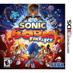 Jogo Sonic Boom: Fire & Ice Sega Nintendo 3DS