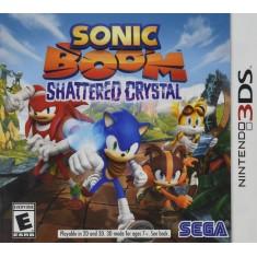 Jogo Sonic Boom: Shattered Crystal Sega Nintendo 3DS