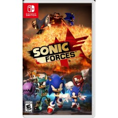 Jogo Sonic Forces Sega Nintendo Switch