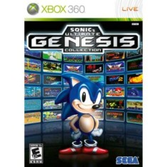 Jogo Sonic Ultimate Genesis Collection Xbox 360 Sega