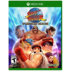 Foto Jogo Street Fighter 30th Anniversary Collection Xbox One Capcom