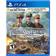 Foto Jogo Sudden Strike 4 PS4 Kalypso Media