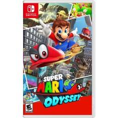 Jogo Super Mario Odyssey Nintendo Nintendo Switch