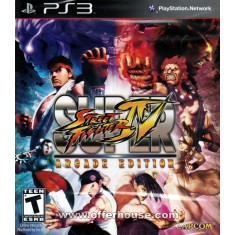 Foto Jogo Super Street Fighter IV: Arcade Edition PlayStation 3 Capcom