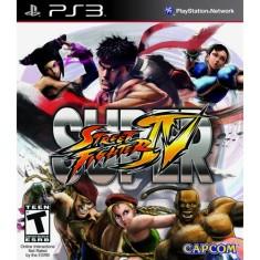Jogo Super Street Fighter IV PlayStation 3 Capcom