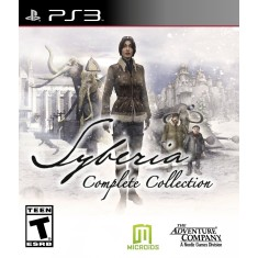 Foto Jogo Syberia: Complete Collection PlayStation 3 The Adventura Company