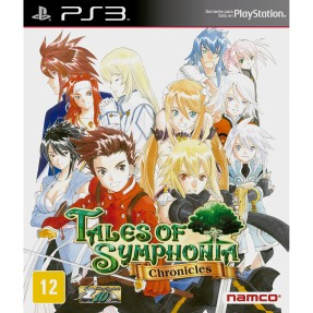 Foto Jogo Tales of Symphonia: Chronicles PlayStation 3 Namco