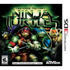 Jogo Teenage Mutant Ninja Turtles Activision Nintendo 3DS
