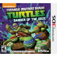 Foto Jogo Teenage Mutant Ninja Turtles: Danger Of The Ooze Activision Nintendo 3DS