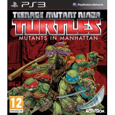Jogo Teenage Mutant Ninja Turtles: Mutants in Manhattan PlayStation 3 Activision