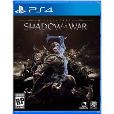 Jogo Terra Média Sombras da Guerra PS4 Warner Bros