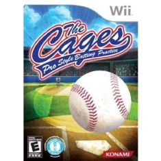 Foto Jogo The Cages: Pro Style Batting Practice Wii Konami