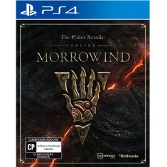 Jogo The Elder Scrolls Online Morrowind PS4 Bethesda