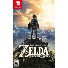 Foto Jogo The Legend of Zelda Breath of the Wild Nintendo Switch