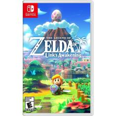 Jogo The Legend of Zelda Link's Awakening Nintendo Nintendo Switch