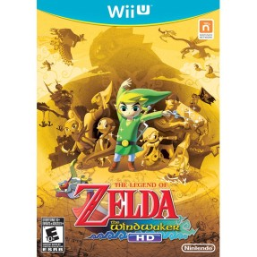Foto Jogo The Legend of Zelda: The Windwaker HD Wii U Nintendo