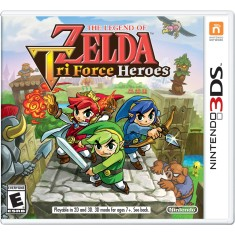 Foto Jogo The Legend of Zelda: Tri Force Heroes Nintendo 3DS