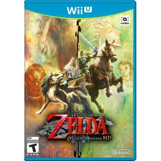 Foto Jogo The Legend of Zelda: Twilight Princess HD Wii U Nintendo