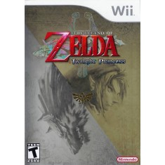 Foto Jogo The Legend of Zelda Twilight Princess Wii Nintendo