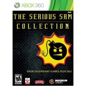 Foto Jogo The Serious Sam Collection Xbox 360 Maximum Games