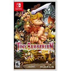 Foto Jogo Tiny Barbarian DX Nintendo Switch