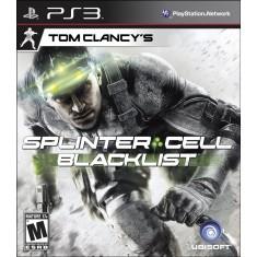 Jogo Tom Clancy's Splinter Cell: Black List PlayStation 3 Ubisoft