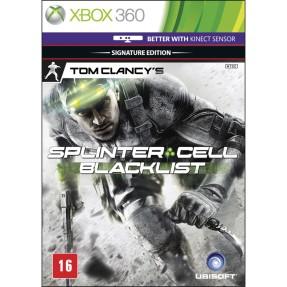 Jogo Tom Clancy's Splinter Cell: Black List Xbox 360 Ubisoft