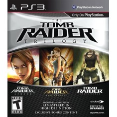 Foto Jogo Tomb Raider: Trilogy PlayStation 3 Eden Studios