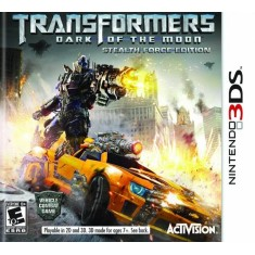 Jogo Transformers Dark Of The Moon Stealth Force Activision Nintendo 3DS
