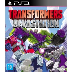 Foto Jogo Transformers Devastation PlayStation 3 Activision