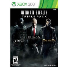 Foto Jogo Ultimate Stealth: Trible Pack Xbox 360 Square Enix