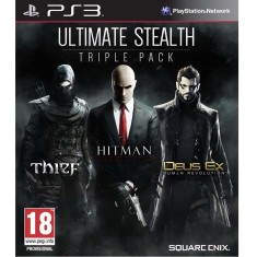 Foto Jogo Ultimate Stealth: Triple Pack PlayStation 3 Square Enix
