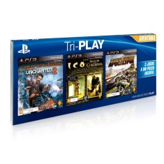 Foto Jogo Uncharted 2, Ico & Shadow of the Colossus, MotorStorm Apocalypse PlayStation 3 Sony