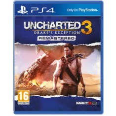 Foto Jogo Uncharted 3 Drake's Deception PS4 Naughty Dog