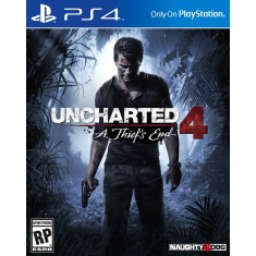 Foto Jogo Uncharted 4 A Thief's End PS4 Naughty Dog