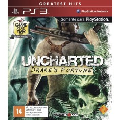 Foto Jogo Uncharted Drakes Fortune PlayStation 3 Sony