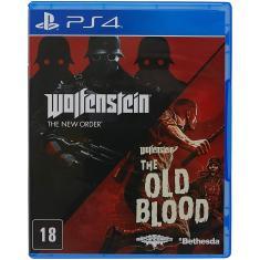 Jogo Wolfenstein: The Two Pack PS4 Bethesda