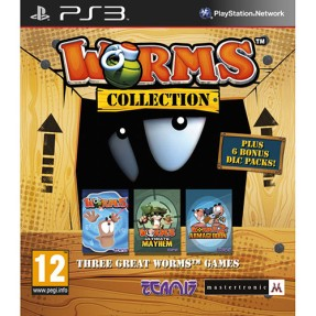 Foto Jogo Worms Collection PlayStation 3 Maximum Games