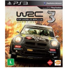 Foto Jogo WRC 3: Fia World Rally Championship PlayStation 3 Bandai Namco