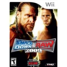 Jogo WWE Smackdown vs Raw 2009 Wii THQ