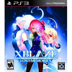 Foto Jogo XBlaze: Lost Memories PlayStation 3 Aksys Games